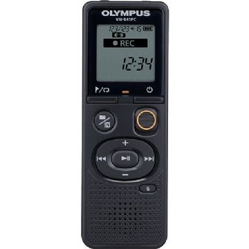 Olympus VN-541PC 4GB Black Digital Voice Recorder inc Battery & microUSB Cable
